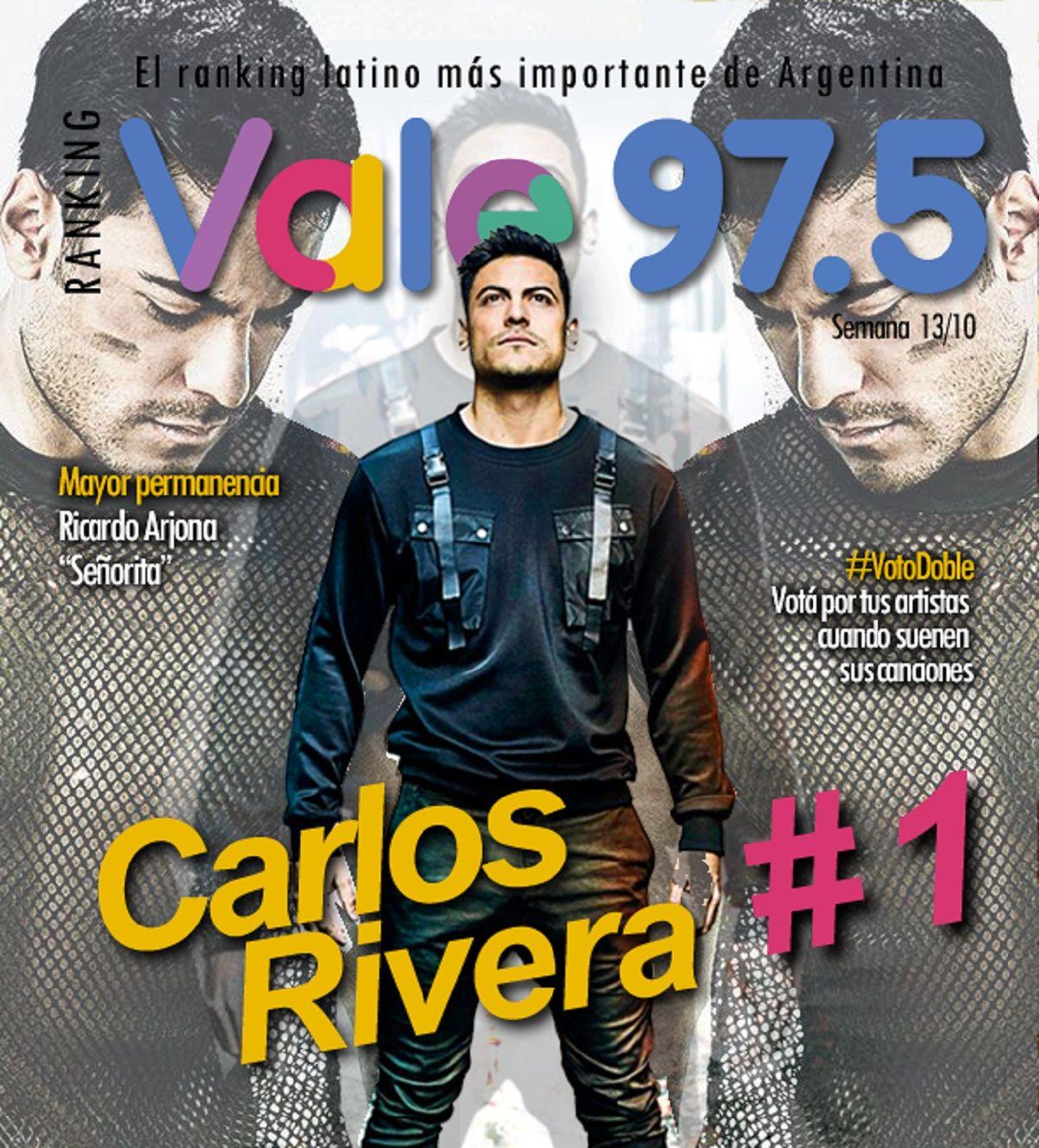 Carlos Rivera sigue liderando el Ranking Vale