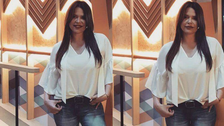 Nazarena Vélez en Tinder