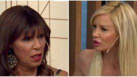 Anamá Ferreira, incómoda en el programa de Luli Salazar.