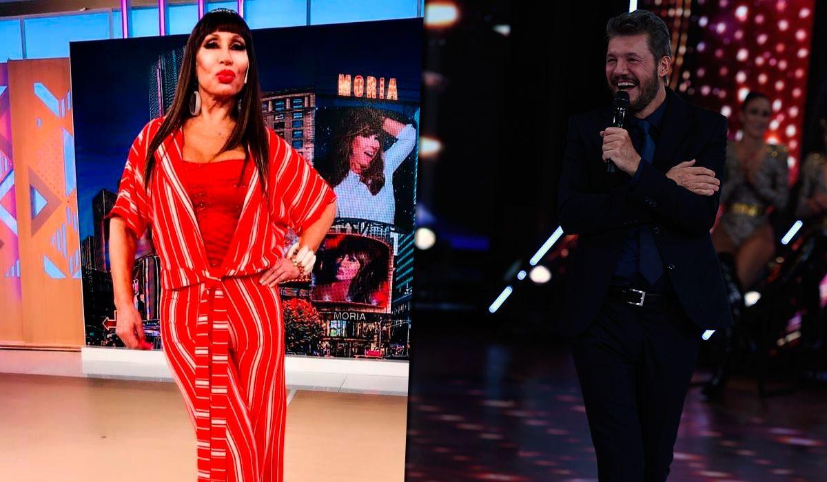 La reacción de Moria Casán tras ganarle en el rating a Marcelo Tinelli