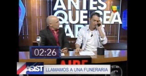 Ronnie Arias y Humberto Tortonese en