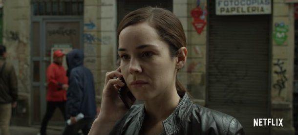 Camila Sodi como Giselle Duque en Distrito Salvaje<br>