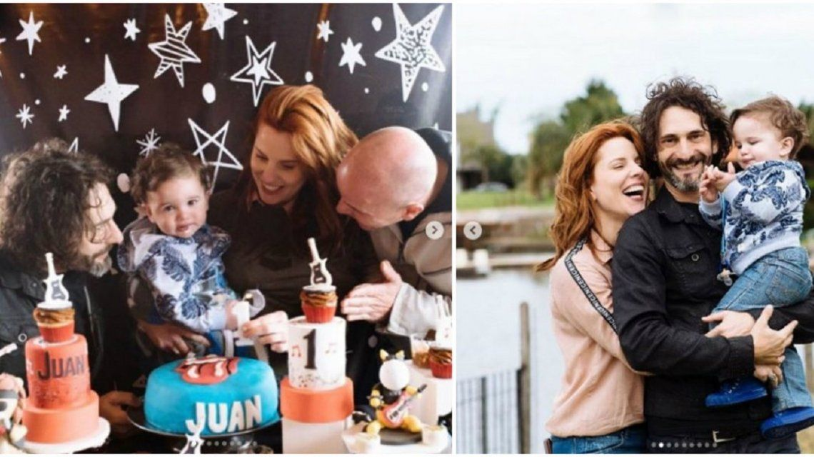 Las fotos del festejo del primer año de Juan, el hijo de Agustina Kämpfer