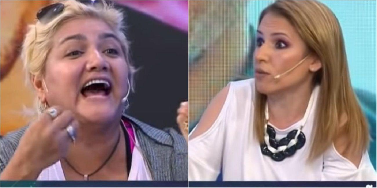 La Bomba Tucumana se cruzó con Fernanda Iglesias.