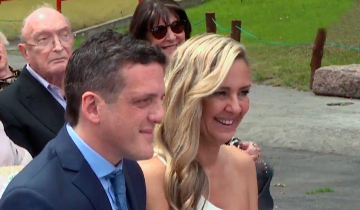 Mauro Szeta se casó con Clarissa y no pudo contener la emoción: Estamos muy felices