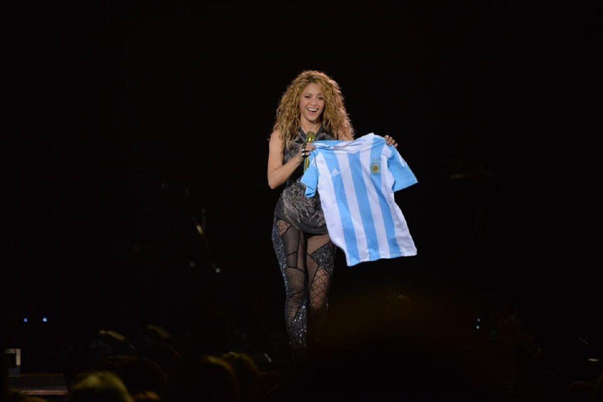 El homenaje de Shakira a Gustavo Cerati en Vélez