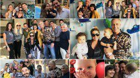 Con muchos amigos, Marley le festejó el cumple a Mirko