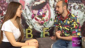 Abel Pintos charló en exclusiva con Julieta Camaño en Right Now.