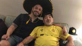 La intimidad del cumpleaños de Diego Maradona en México