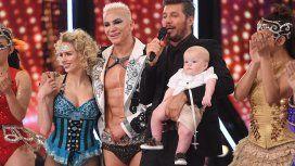 Flavio Mendoza presentó a su hijo en ShowMatch.