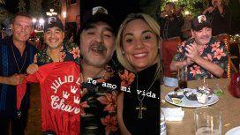 El festejo de Maradona