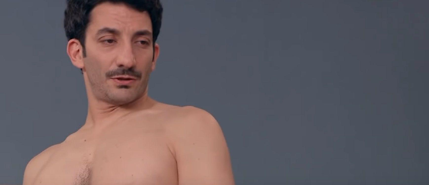 VIDEO: El divertido desnudo de Juan Minujín en 100 días para enamorarse