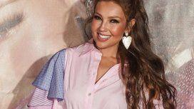 Demoraron a Thalía en Nueva York por exceso de velocidad