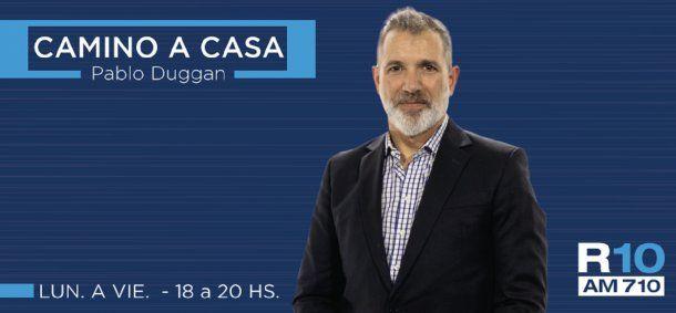 Pablo Duggan, con nuevo programa en Radio 10. <br>