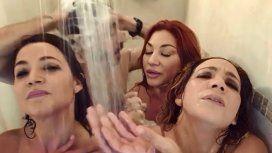El video de las Bandana en la ducha