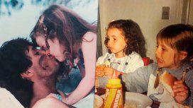 Las fotos de Cande en su infancia