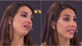 Cinthia Fernánez, angustiada por su situación económica.