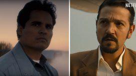 Michel Peñay Diego Luna, los protagonistas de Narcos México
