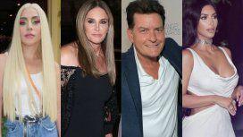 Lady Gaga, Caitlyn Jenner y Charlie Sheen, evacuados por los incendios en California