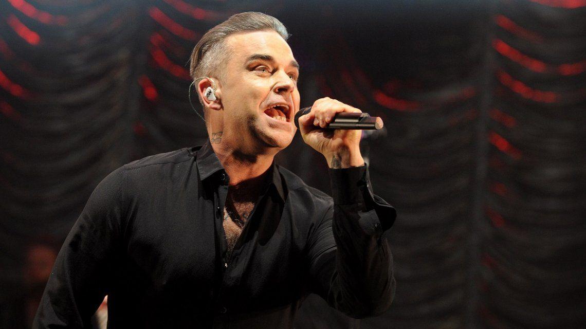 Por la lluvia, suspendieron el show de Robbie Williams en Buenos Aires