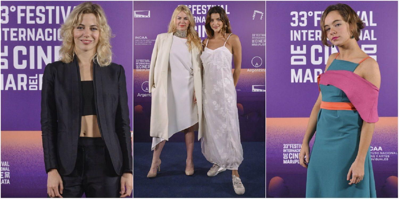 Los looks de la alfombra roja del Festival de Cine de Mar del Plata.