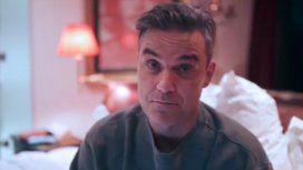 Robbie grabó un video para sus fans tras la cancelación del show