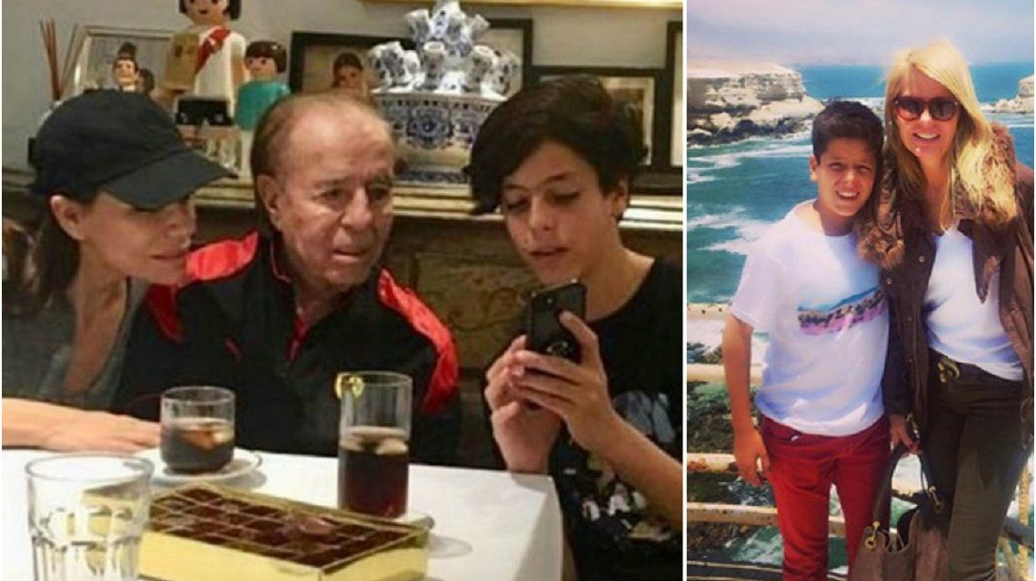 Preocupación: este viernes operan de un tumor cerebral a Máximo, el hijo de Carlos Menem