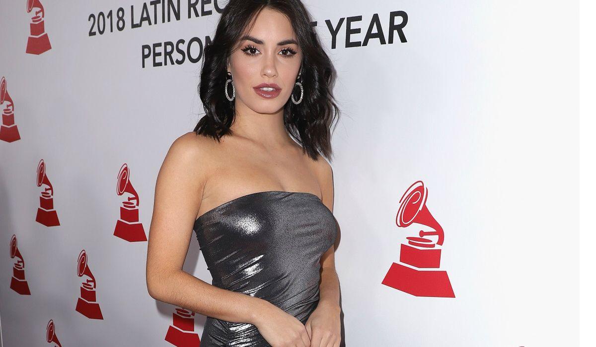 Lali en la ceremonia de Person of the year de los Latin Grammy