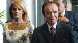 La interna de Cecilia Bolocco y Carlos Menem en medio de la intervención de su hijo Máximo