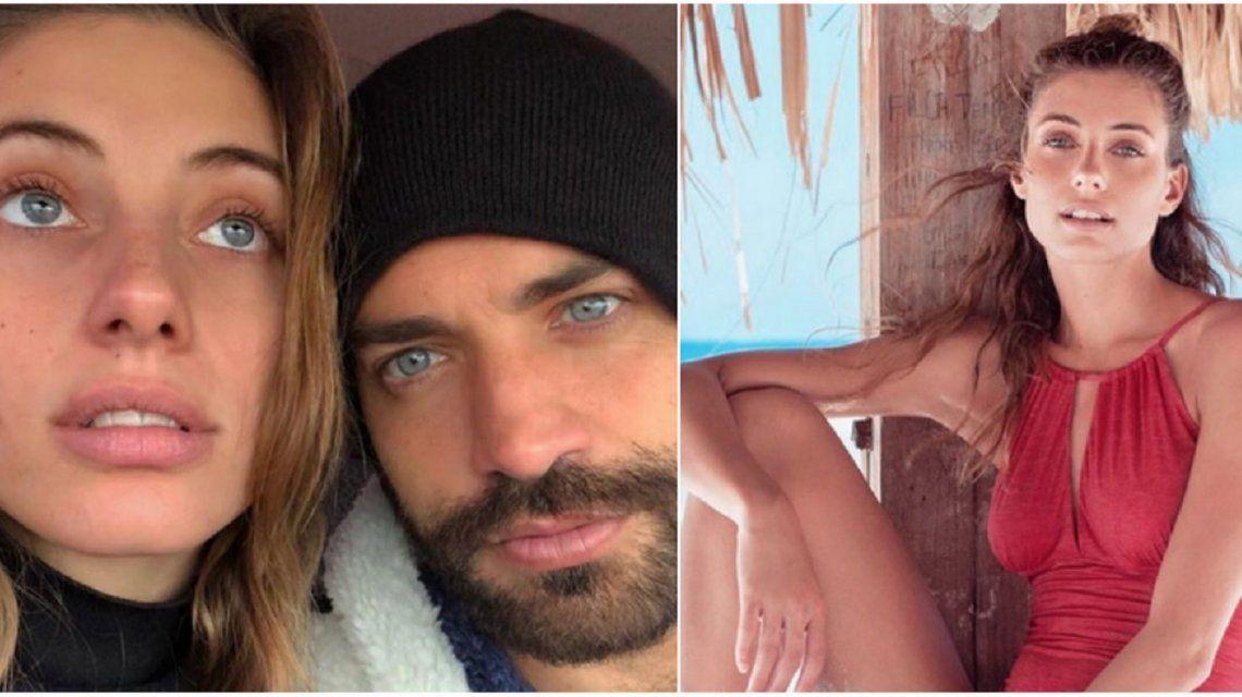 Benjamín Alfonso blanqueó a su novia Julia Zanettini en Instagram con un gran mensaje de amor