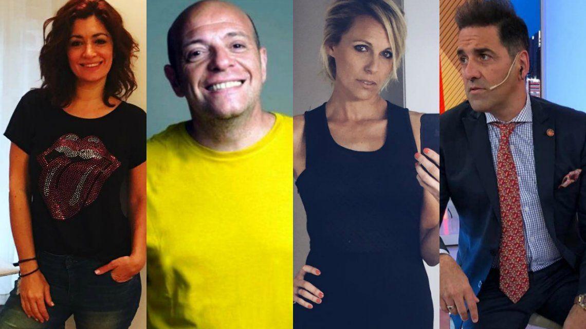 Carla Conte, Campi y Denise Dumas, contra Mariano Iúdica