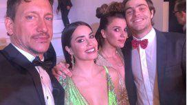 Los ex Casi Ángeles en la gala de los Personajes del Año