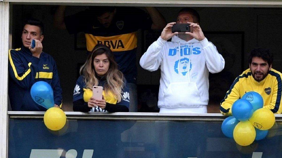 La insólita consulta de Dalma Maradona por el entrenamiento abierto de Boca