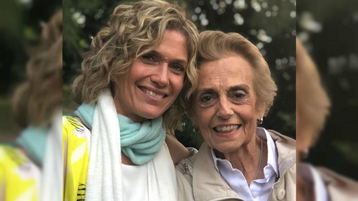 Maru junto a Susana en una de las últimas fotos juntas