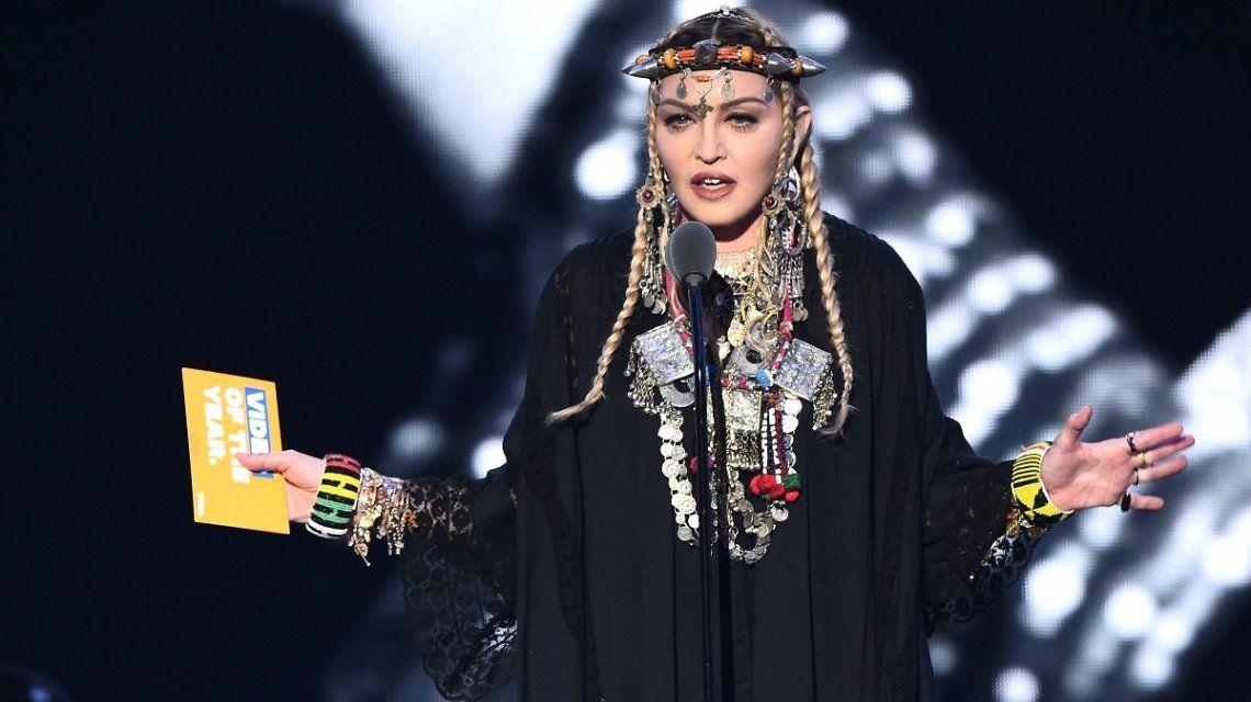 Por primera vez, Madonna publicó una foto de sus seis hijos juntos