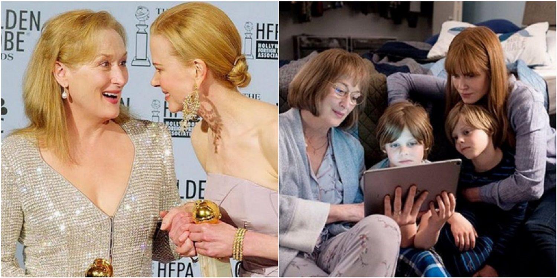 Nicole Kidman elogió a Meryl Streep.