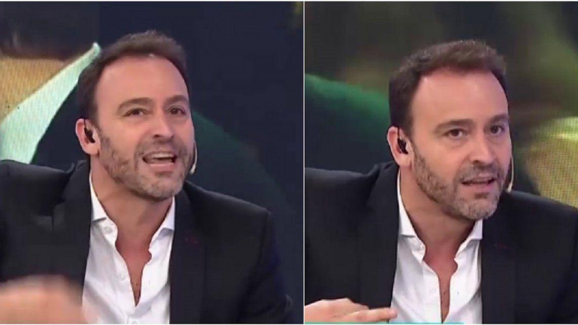 La furia de Adrián Pallares contra Romina Manguel.