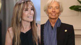 El extraño encuentro de Gladys Florimonte y Christine Lagarde