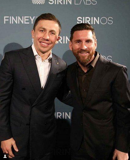 Lionel Messi, en el evento del comercial que protagoniza. <br>