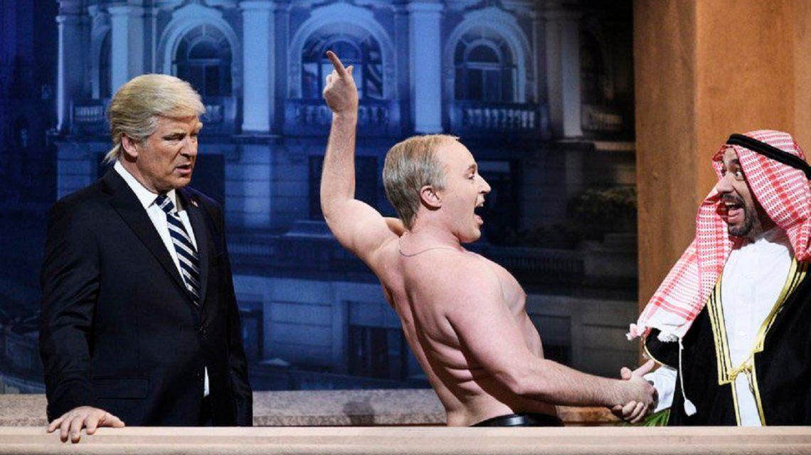 La parodia de Saturday Night Live por la visita de Trump a la Argentina