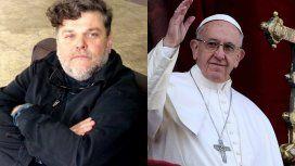 Alfredo Casero quiso hacerse el gracioso con el Papa Francisco y causó indignación