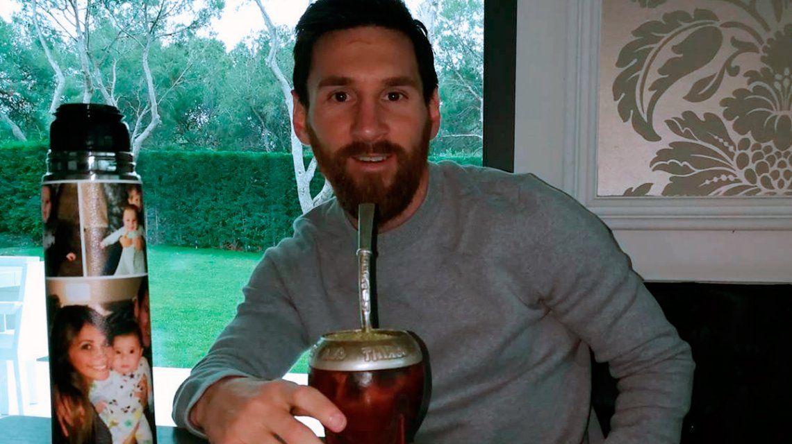 Cuál es la serie que elige Lionel Messi para relajarse mientras toma mate