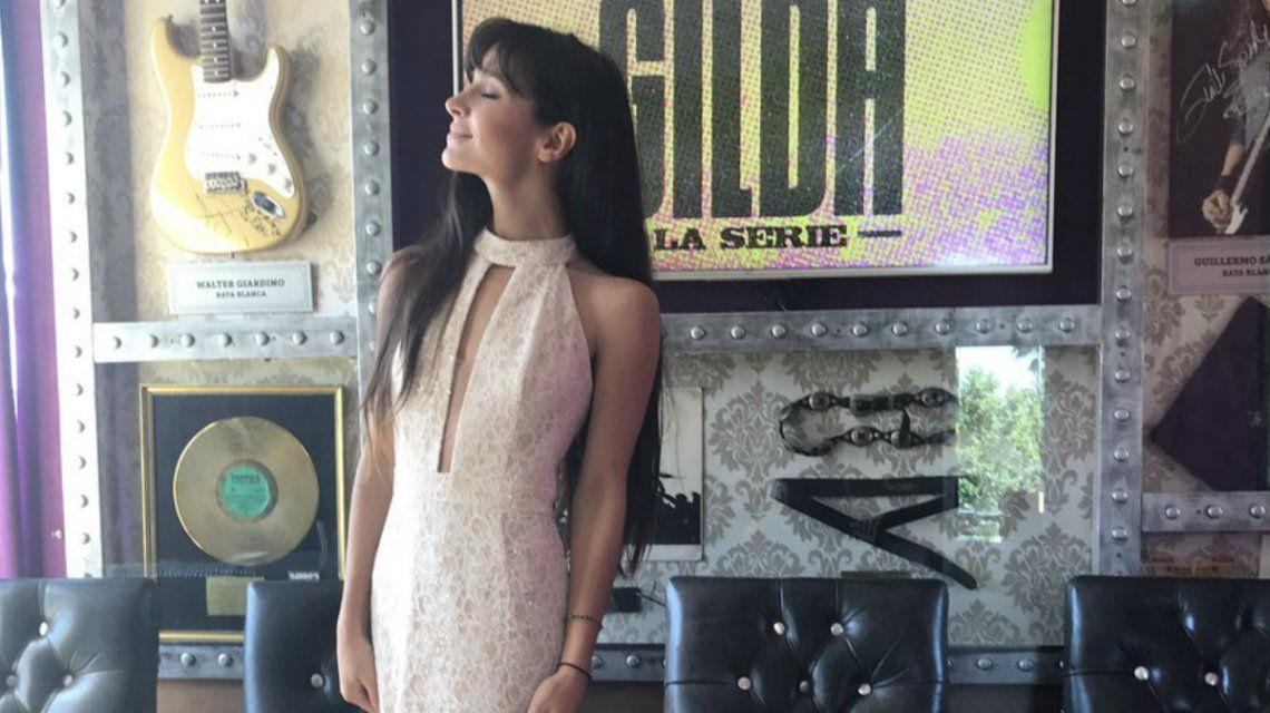 Brenda Asnícar será Gilda