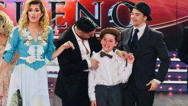 VIDEO: el hijo menor de Flor Peña debutó en el Bailando