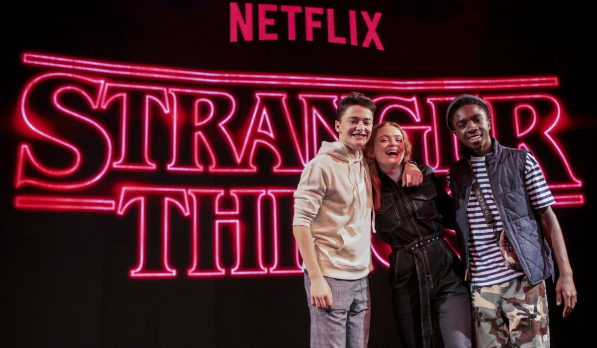 Las fotos de Noah Schnapp, Caleb McLaughlin y Sadie Sink de Stranger Things en la Argentina Comic Con