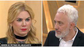 Esmeralda Mitre, indignada con Andy Kusnetzoff.