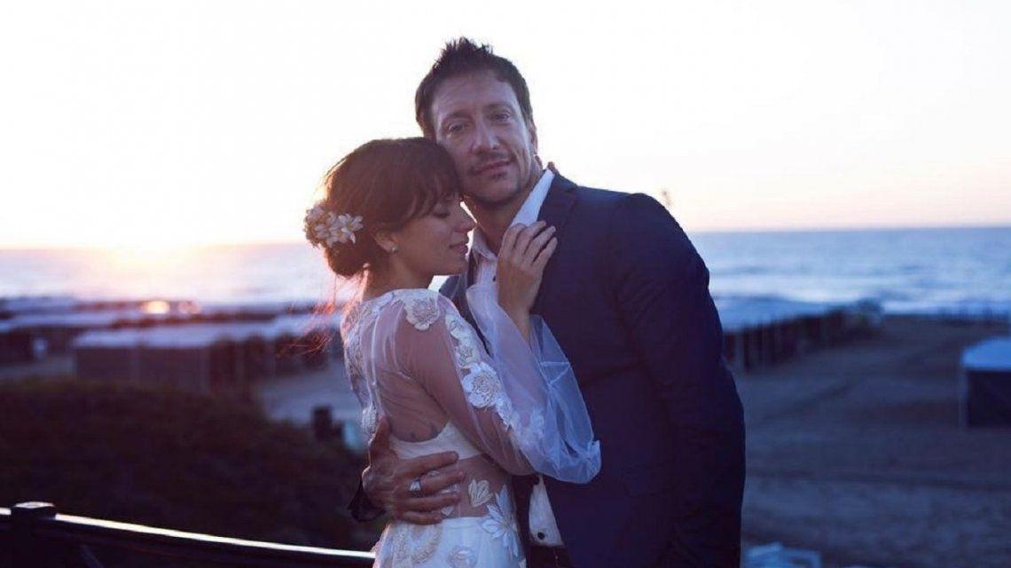 El recuerdo de Nico Vázquez y Gime Accardi a dos años de su boda: video y emotivas palabras