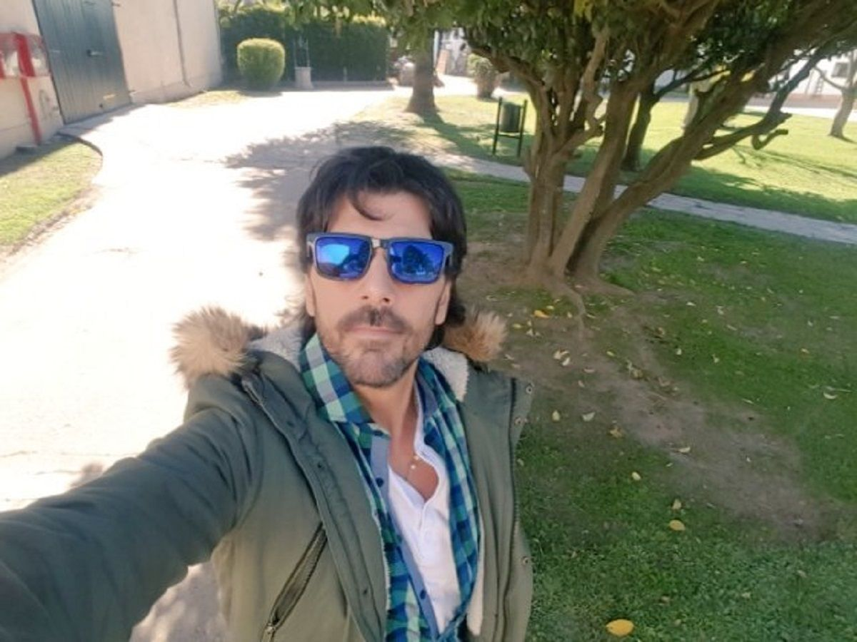 Juan Darthés, en crisis con su mujer: pasó la Navidad con un hijo