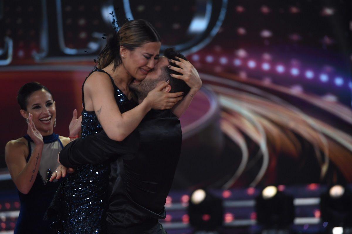 Bailando: Mica Viciconte, Julián Serrano con Sofi Morandi, Jimena Barón y Mery del Cerro, semifinalistas