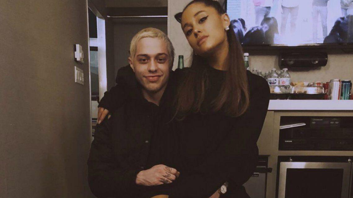 Pete y Ariana se habían comprometido en junio y se separaron en octubre tras la muerte de Mac Miller
